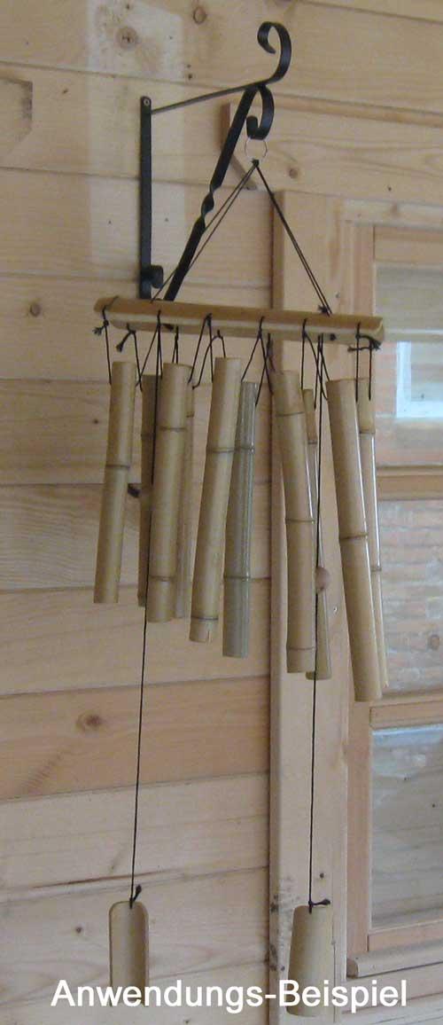 wandhalter metall f r blumenampel wand blumen h nge ampel windspiel halter gro. Black Bedroom Furniture Sets. Home Design Ideas