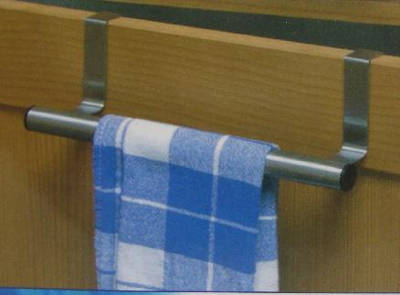 handtuchhalter edelstahl zusatz geschirr handtuch halter f r k che bad t r 25 cm ebay. Black Bedroom Furniture Sets. Home Design Ideas