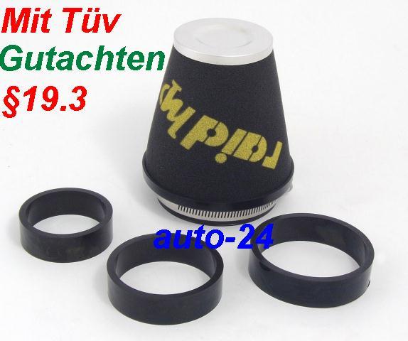 raid hp sport luftfilter vw bora 2 3 v5 mit t v 19 3 teilegutachten. Black Bedroom Furniture Sets. Home Design Ideas