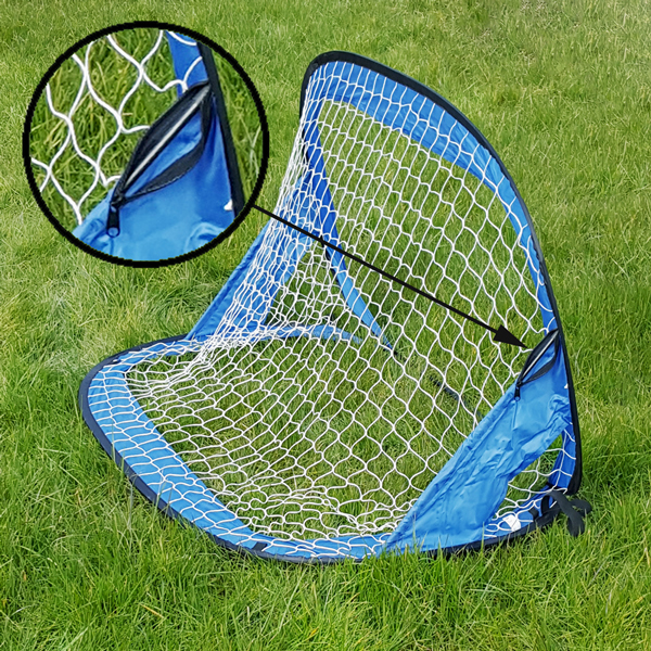 pop up fu balltor heringe fu ball spa mini garten soccer tor goal 122x66x66cm 4052371216371 ebay. Black Bedroom Furniture Sets. Home Design Ideas