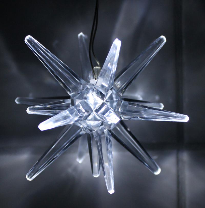 led weihnachtsstern batteriebetrieben licht wei weihnachts deko fenster stern ebay. Black Bedroom Furniture Sets. Home Design Ideas