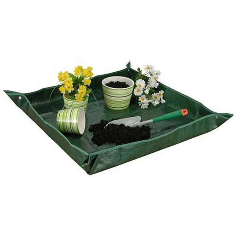 arbeitsplane 81 cm zum umtopfen garten arbeits pflanz plane unterlage folie 4052371204002 ebay. Black Bedroom Furniture Sets. Home Design Ideas