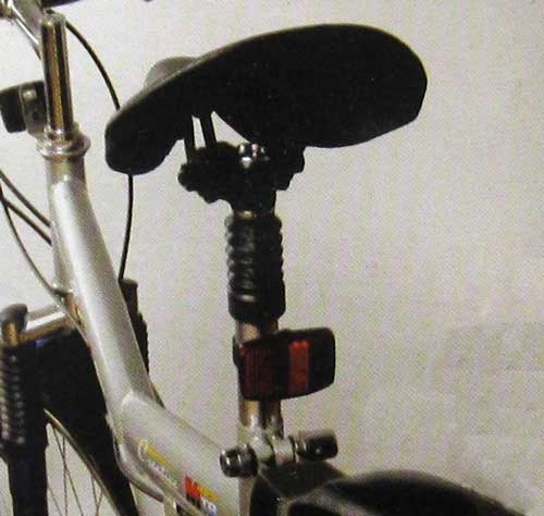 fahrradsattelst tze metall gefedert fahrrad sattel. Black Bedroom Furniture Sets. Home Design Ideas